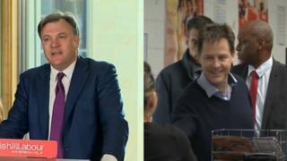 Ed Balls and Nick Clegg