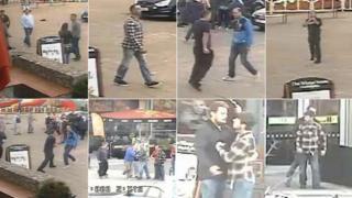CCTV of brawl outside Xscape