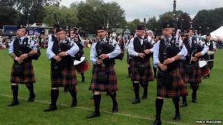 Highland gathering 2014