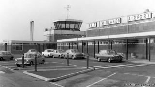 East Midlands Airport - 1972