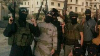 Jihadists in Syria