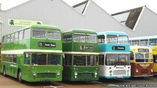 isle of Wight bus museum