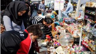 Street market in Tehran (17/03/15)