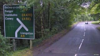 A470 Llanrwst