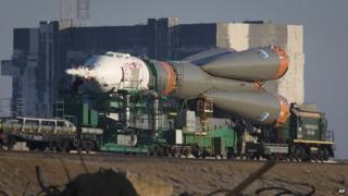 Russian Soyuz booster rocket - file pic