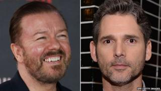 Ricky Gervais and Eric Bana