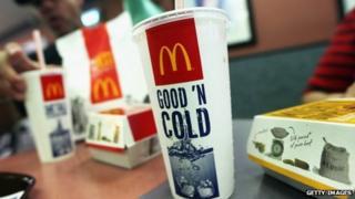 McDonalds food