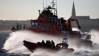RNLI lifeboats
