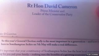 Cameron letter