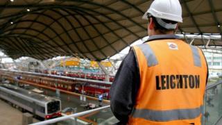 Leighton worker