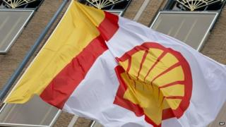 Royal Dutch Shell flag