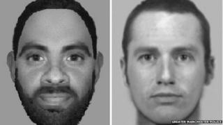 E-fit in connection with rape in Bolton