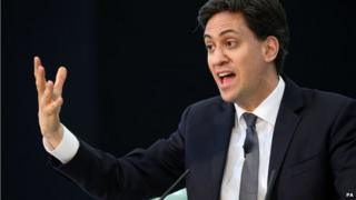 Ed Miliband, photographed on 7/4/2015 in Bristol
