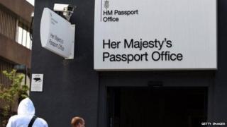 Passport Office building