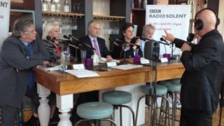 BBC Radio Solent debate