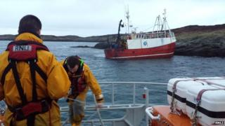 Barra lifeboat crew and the Nordic Way