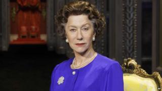 Dame Helen Mirren as the Queen
