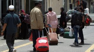 Foreigners arriving at Sanaa airport to be evacuated from Yemen