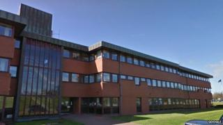Northumberland County Council building