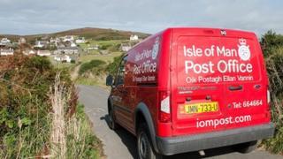 Isle of Man Post Office Van