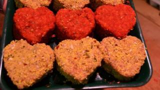 Heart burgers