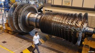 General Electric gas turbine in France