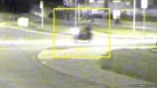 CCTV image of the bike