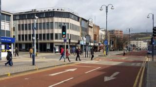 The Kingsway, Swansea
