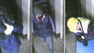 CCTV images from Hatton Garden