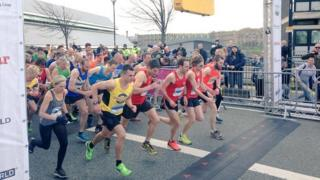 Sheffield Half Marathon runners