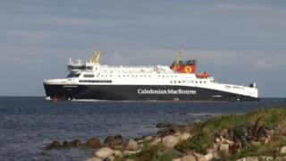 An MV Loch Seaforth