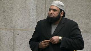 Mohammed Khubaib arriving in court