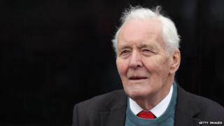 Tony Benn speaking in 2011