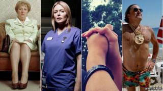 Representations of Pebbledash People, Holby City Woman, the Wristband generation and Selsdon Man