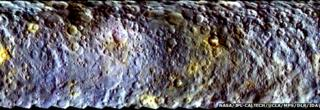 Ceres in colour
