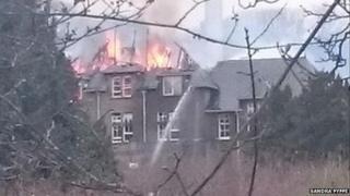 Strathmartine fire