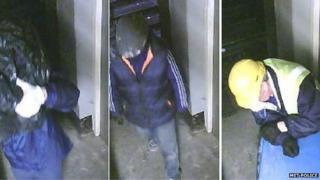 CCTV images from Hatton Garden