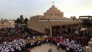 Saint Joseph Church in Erbil