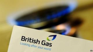 The British Gas logo