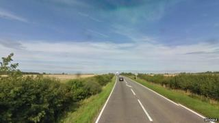 A52 between Bottesford and Grantham