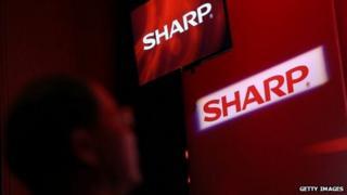 Sharp logos