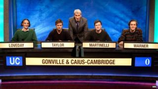 The Gonville & Caius team