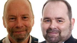Scientists Dr Stewart Rhind and Dr Julian Dawson