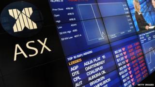 Australian Stock Exchange (ASX) in Sydney (file image)