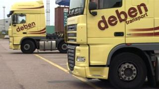 Deben Transport lorries