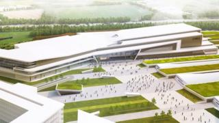 CGI of planned new conference centre in Aberdeen