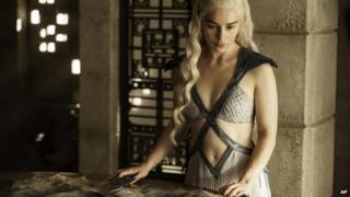 Daenerys Targaryen, portrayed by Emilia Clarke