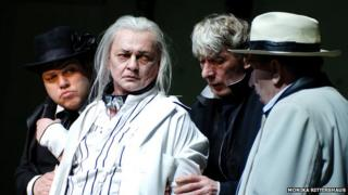 The line-up includes Berliner Ensemble's Waiting for Godot