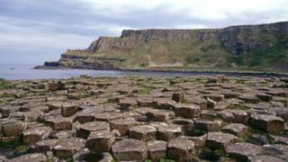 Tourism NI are expected promote such attractions as the world famous Giant's Causeway in County Antrim