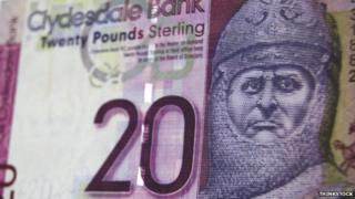 Clydesdale Bank banknote